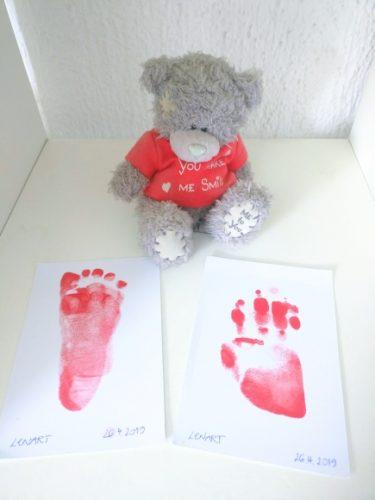 Cadeau bébé : Tampon encre magique spécial empreinte bébé photo review