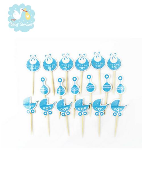 décoration gâteaux baby shower