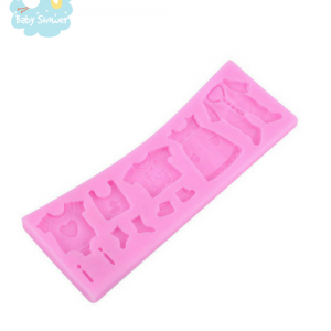 gâteau baby shower moule en silicone rose