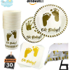 Lot assiettes baby shower