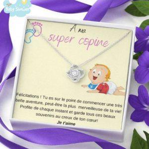collier cadeau naissance future maman