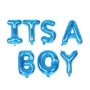 Ballons bleus It's a boy
